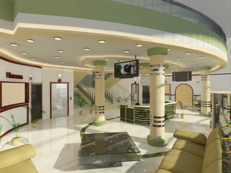 Modern Interior Designer For Hospital Hospitality