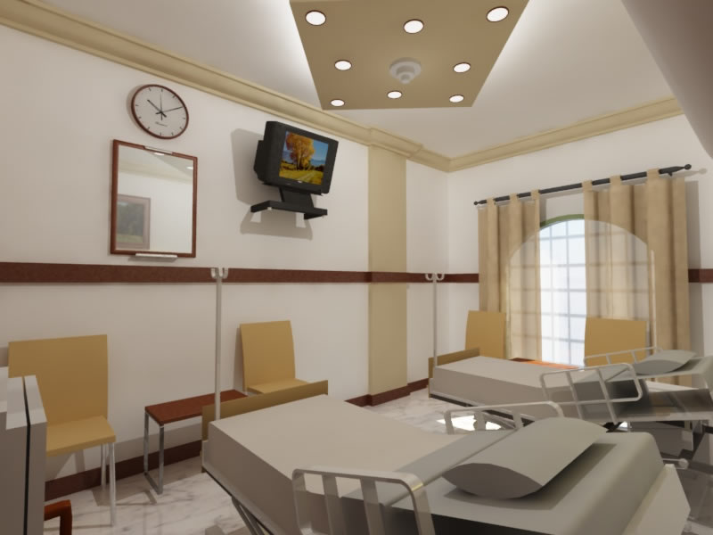 Need best interior designer for hospital hospitality Nursing home architecture
