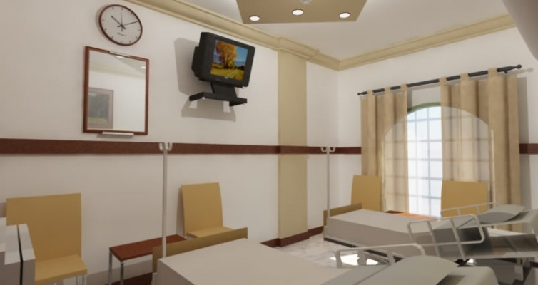contractor for hospital gurgaon interiors designers